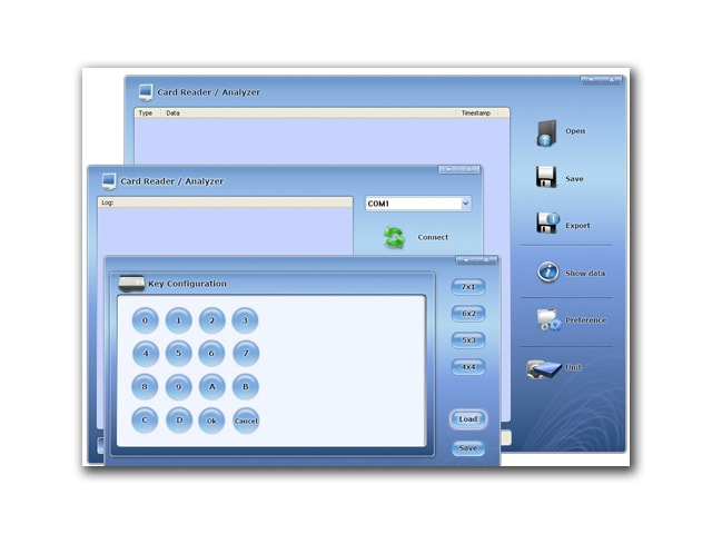 Security Smart Card Access Interface