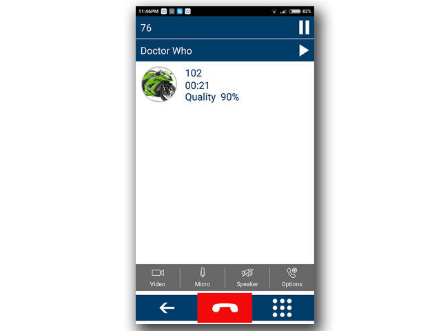 Android VOIP Client